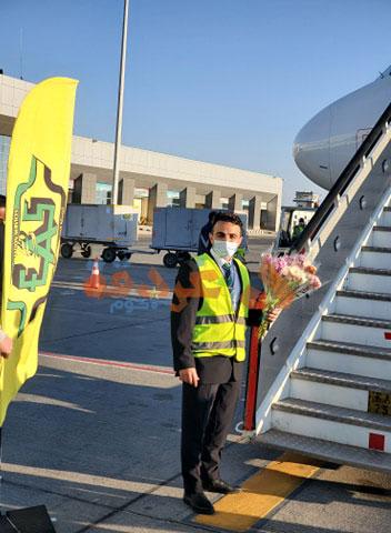 مطار الغردقة يستقبل أول رحلة ألمانية بعد 11 شهرا من التوقف